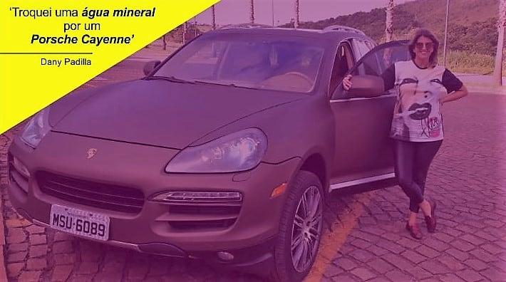 A escalada de sucesso da CEO que trocou uma água mineral por um Porsche Cayenne