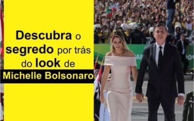 O segredo por trás do look de Michelle Bolsonaro