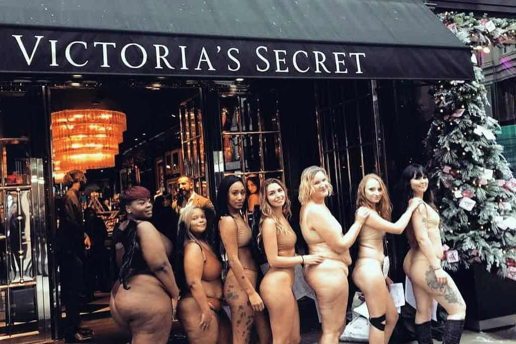 Manifestação Victoria's Secret