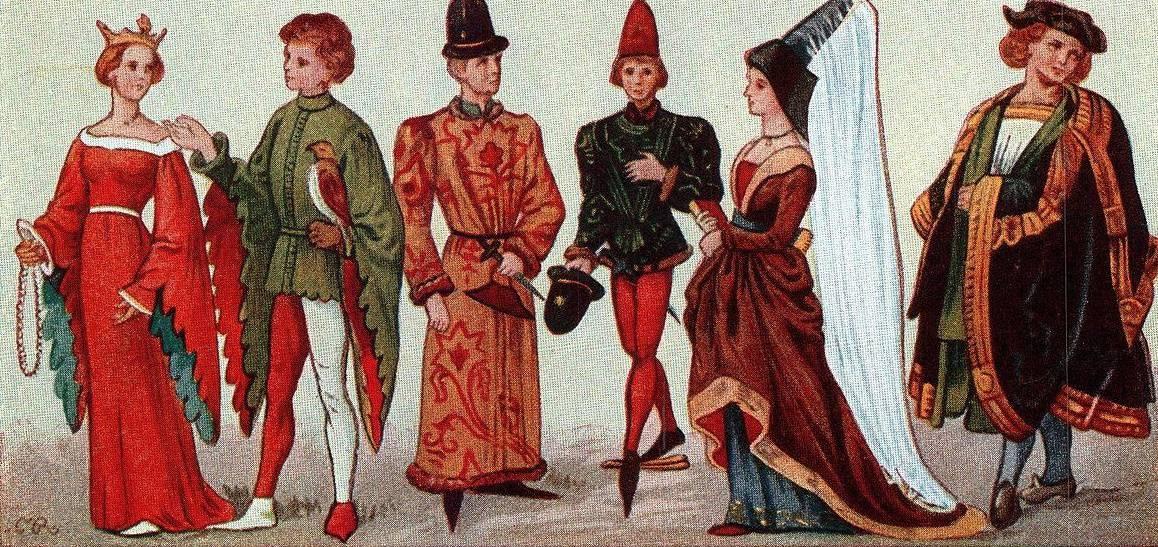 Evolução da moda