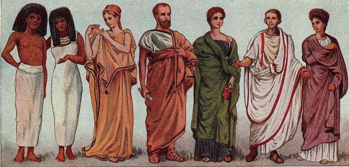 evolução do vestir