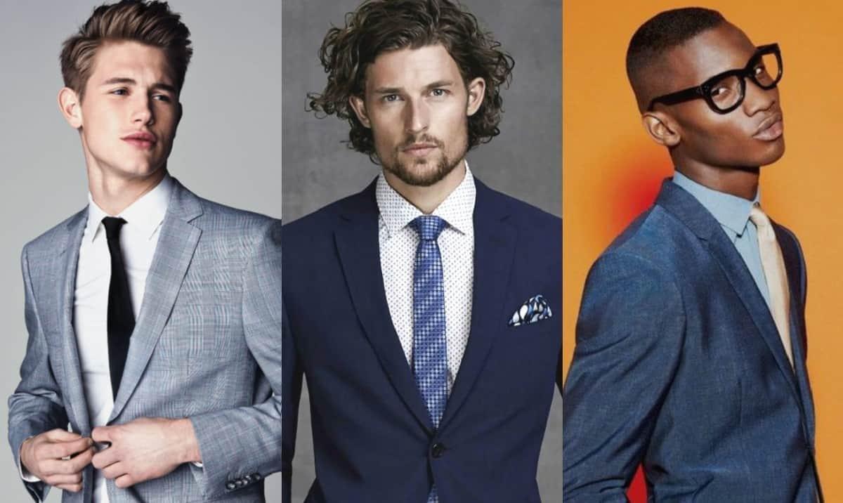 Vestir corporativo masculino
