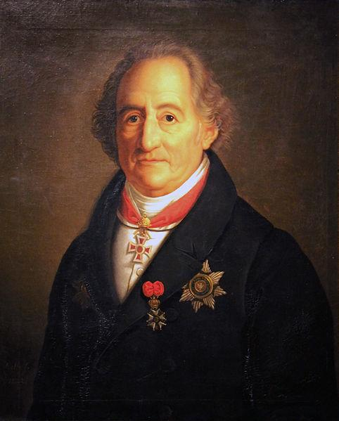 o filósofo alemãoJohann Wolfgang von Goethe,