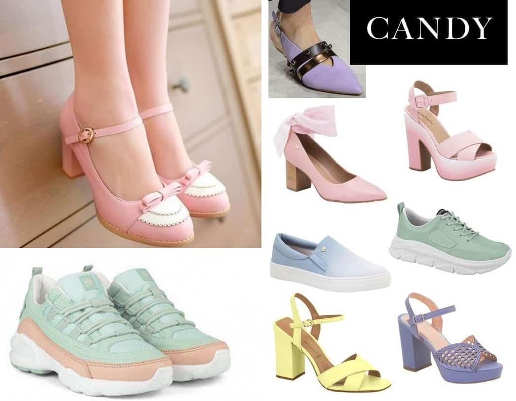 sapatos verão