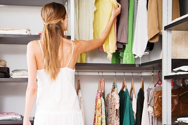 Organizando guarda-roupas